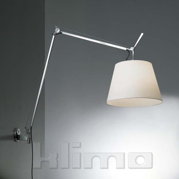 klimo leuchten gmbh wandleuchte tolomeo mega on off schirm 36cm. Black Bedroom Furniture Sets. Home Design Ideas